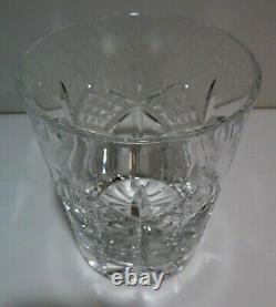 EXCELLENT Waterford Crystal GRAINNE Set 6 Double Old Fashioned 4 3/8 IRELAND