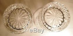EXCELLENT Waterford Crystal HAPPY BIRTHDAY (2000-2003) 2 Double Old Fashioned