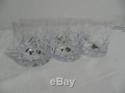 Full Set Of 6 Mikasa OLYMPUS Double Old Fashioned Glass MINT