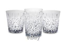 Hamilton Crystal Double Old Fashioned Glasses Set of 8 Reed & Barton DOF whisky