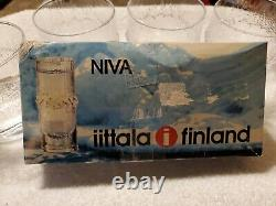 Iittala NIVA Double Old Fashioned Glasses Cordial Tapio Wirkkala