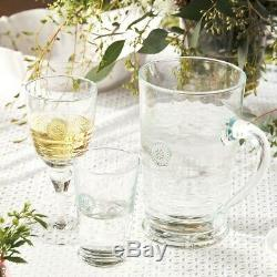 Juliska Berry & Thread Double Old Fashioned Glass Set of 8