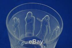 Lalique Femmes Antiques Double Old Fashioned or Flat Tumbler, 4