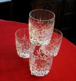 Lenox Charleston Double old Fashioned glasses Beautiful set of 4 FREE SHIP