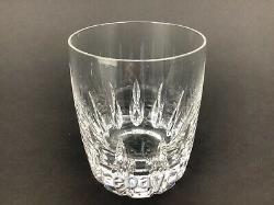 Lenox Firelight Clear Set of EIGHT (8) Crystal Double Old Fashioned 4 Glasses