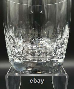 Limor Crystal 6 Double Old Fashioned Heavy Oval Cut EXCELLENT NICE RARE