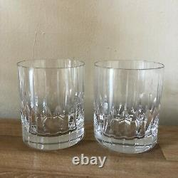 Lovely Mikasa Pair of Park Avenue Double Old Fashioned Glasses