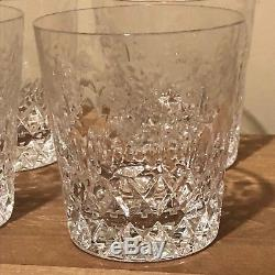 Lovely Set of 4 Rogaska Gallia Double Old Fashioned Glasses