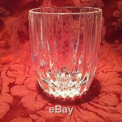 MIKASA PARK LANE EXECUTIVE DOUBLE OLD FASHIONED deep vertical cuts, crystal