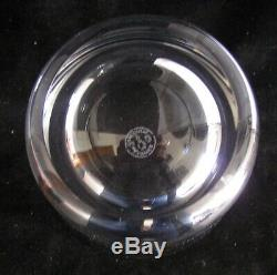 MONTAIGNE (Optic) by BACCARAT Crystal Double Old Fashioned Glass Barware PERFECT