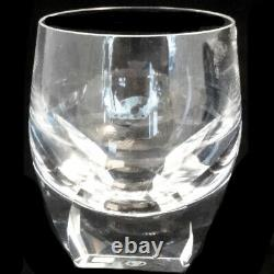 MOSER BAR Double Old Fashioned 4.75 tall NEW NEVER USED made Czech Republic