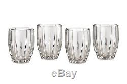 Marquis by Waterford Omega Double Old Fashioned Glasses, Set of 4, Crystalline