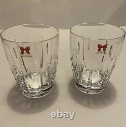 Marquis by Waterford Sheridan Crystal Decanter & Double Old Fashioned Glasses