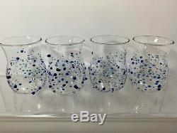 Massimo Lunardon Fragolini Double Old-Fashioned Glasses (4) New