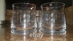 Michael Graves Double Old-Fashioned / Juice / Drinking Glasses Set of 6