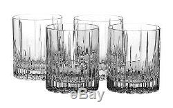 Mikasa Arctic Lights Crystal Double Old Fashioned Glass 11.5-Ounce Set. NO TAX