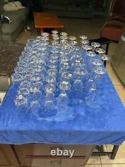 Mikasa Olympus Lot New Flute/Iced Beverage/Double Old Fashioned/Wine/Goblet