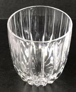 Mikasa Park Lane Crystal Double Old Fashioned Glasses Set Of 6