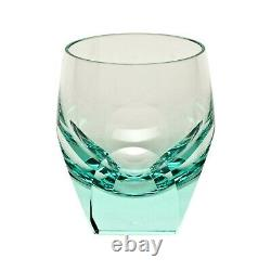 Moser Bar Double Old Fashioned Glass Beryl