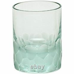 Moser Crystal Pebbles Double Old Fashioned Beryl