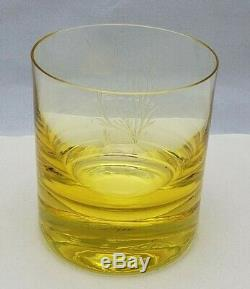 Moser Ocean Life Whiskey Double Old Fashioned Glass