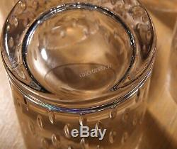 NEW Waterford Crystal Enis Double Old Fashioned Glasses 4 Tall Set of Four