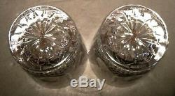 NEW Waterford Crystal KENMARE (1968-) Set 2 Double Old Fashioned (DOF) 4