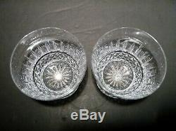 NEW Waterford Crystal TRAMORE (1956-) Set 2 Double Old Fashioned (DOF) 4