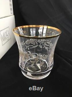 NWT Mikasa Antique Lace Double Old Fashioned Rare 8 pieces still in boxes