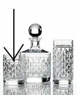 New Ralph Lauren Aston S/4 Double Old Fashioned DOF Glasses Tumblers Crystal