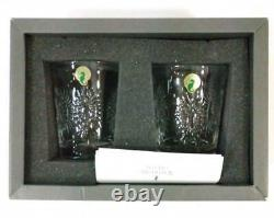 New WATERFORD Crystal MILLENIUM COLLECTION Double Old Fashioned GLASS Set of 2