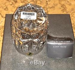 New WATERFORD Crystal WESTHAMPTON Double Old Fashioned Tumbler Glasses 4 UNUSED