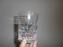 Nice Set of 4 Waterford Millennium Peace 12 oz. Double Old Fashioned Tumblers
