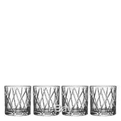 Orrefors City Double Old Fashioned Set of 8