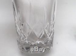 Pair (2) Gorham King Edward Flat Double Old Fashioned Glasses 4 1/4