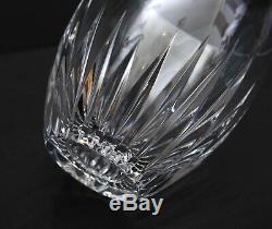 Pristine BACCARAT Crystal MASSENA 13 oz Flat Tumbler Double Old Fashioned Signed