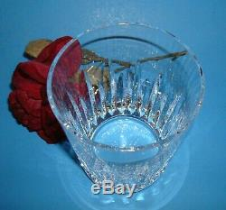 RECENT STYLE CARINA DOUBLE OLD FASHIONED'SEAHORSE' mark Waterford Crystal