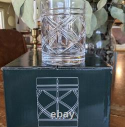 Ralph Lauren Brogan Double Old Fashioned Glasses Set of 4