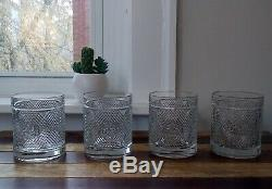 Ralph Lauren Safari Signature Collection Double Old Fashioned Glass Set withBox