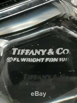 Rare Tiffany Frank Lloyd Wright Double Old Fashioned Set of 2