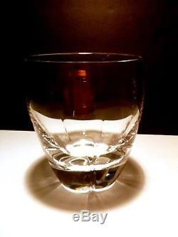 Rare VINTAGE Lalique Crystal HIGHLANDS (1952-2004) 4 Double Old Fashioned 4