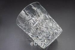 Rogaska Crystal Gallia Double Old Fashioned Tumbler Glass 3 7/8 Set 3 FREE SHIP