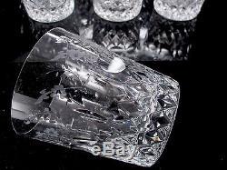 Rogaska Gallia Crystal 8 Double Old Fashioned Tumblers