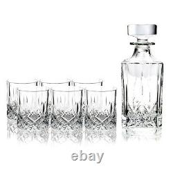 Royal Doulton Decanter Set Square Decanter with 6 Double Old-Fashioned Glasses