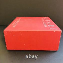 SET 4 New in Box RALPH LAUREN Safari Double Old Fashioned Rocks Whiskey Glasses