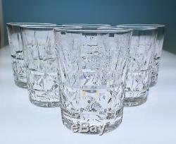 Set 6 Waterford KYLEMORE Double Old Fashioned Glasses Irish Crystal DOF Glass