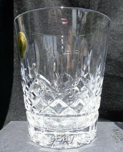 Set Of 2 Waterford Lismore 12 Oz Double Old Fashioned Tumblers In Box Slovenia 2