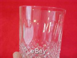 Set Of 4 Vintage Waterford Colleen Double Old Fashioned Glasses 4-3/4 Xlnt
