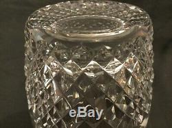Set Of 4 Waterford Crystal Colleen Double Old Fashioned Tumbler Glasses 4 1/2