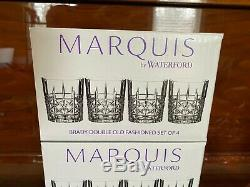 Set of 12 Marquis by Waterford Brady Double Old Fashioned Glasses NEW